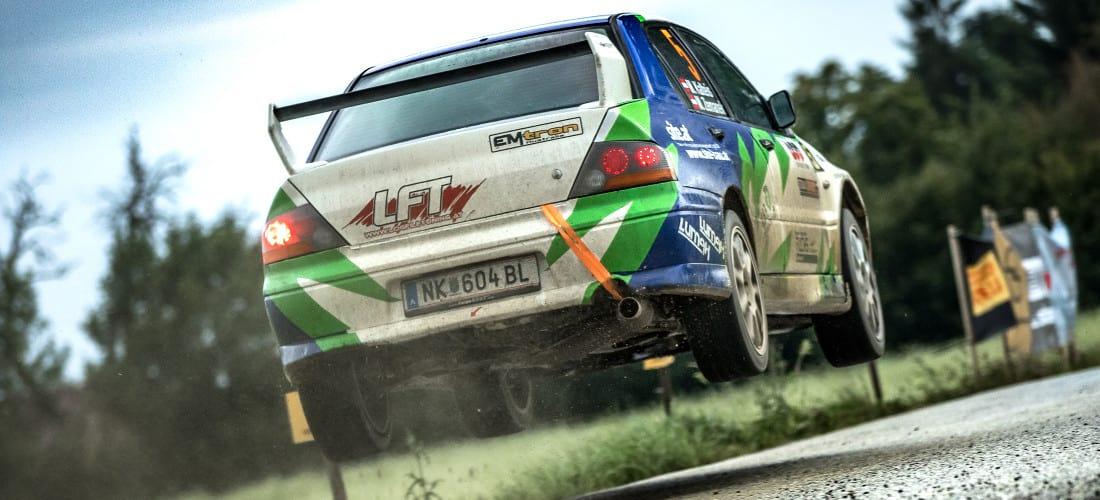 Mitsubishi Rally Evo in Action. Ein LFT Projekt